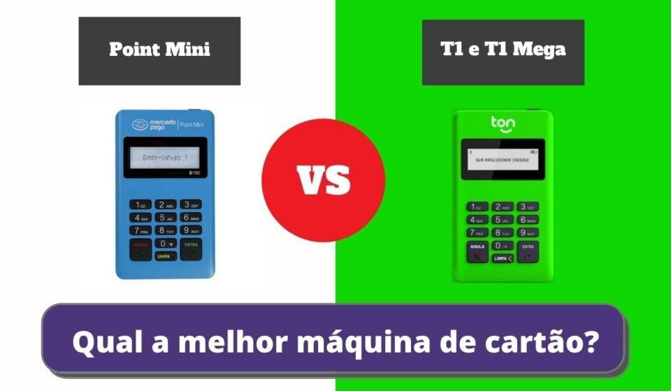 Point Mini ou T1 e T1 Mega - Qual a Melhor Maquininha de Cartão?