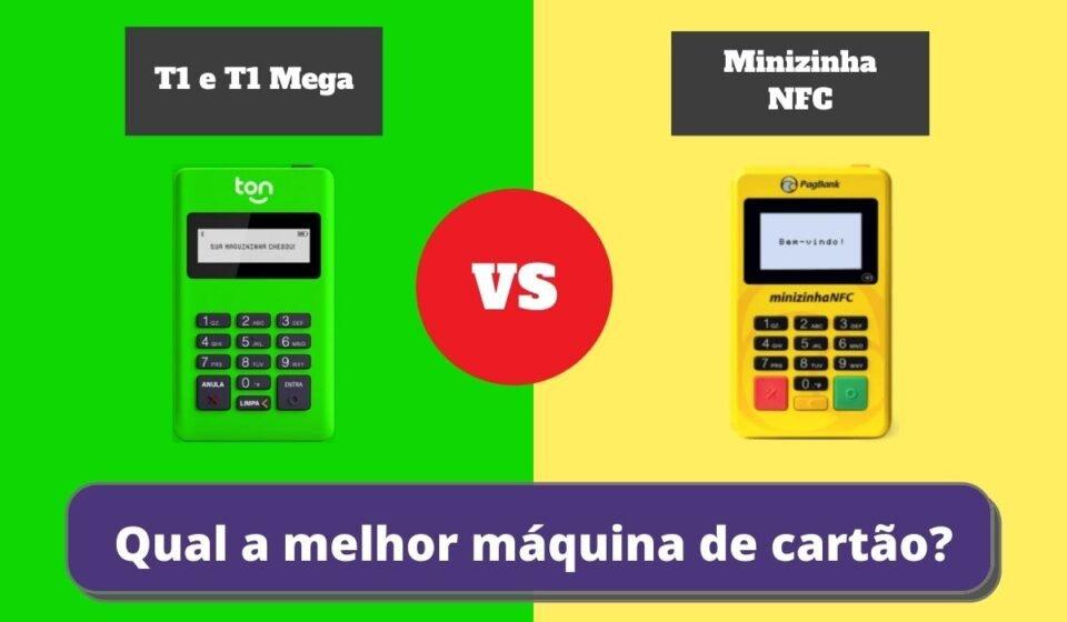 Minizinha NFC ou T1 e T1 Mega - Qual a Melhor Maquininha de Cartão?